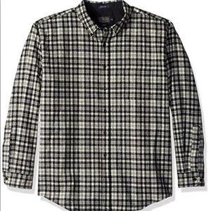 Pendleton sir Walter Scott fireside button flannel